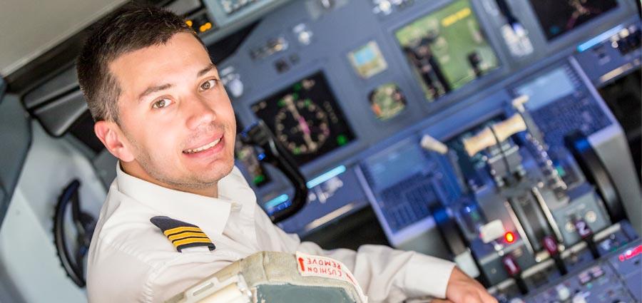 Corso per diventare pilota di aerei di linea